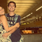 Going back to the USA after spending Christmas in Brazil, CNF Airport, January 2011